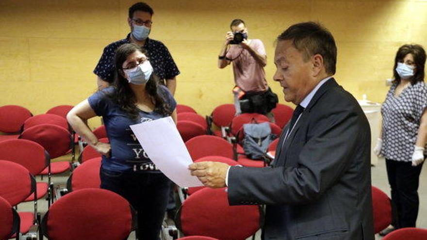 El president de l'Audiència preveu una situació judicial «semicaòtica»