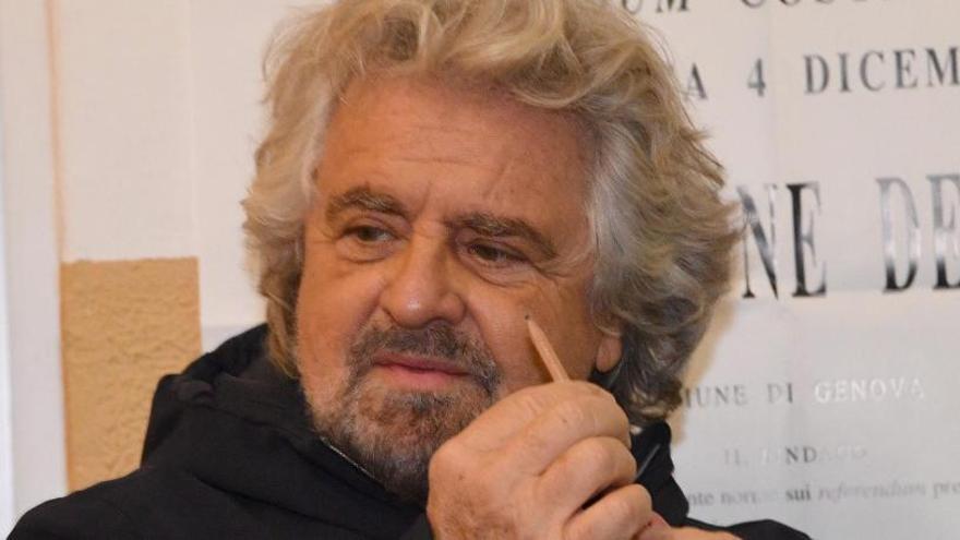 """Grillo pide elecciones """"lo antes posible"""""""