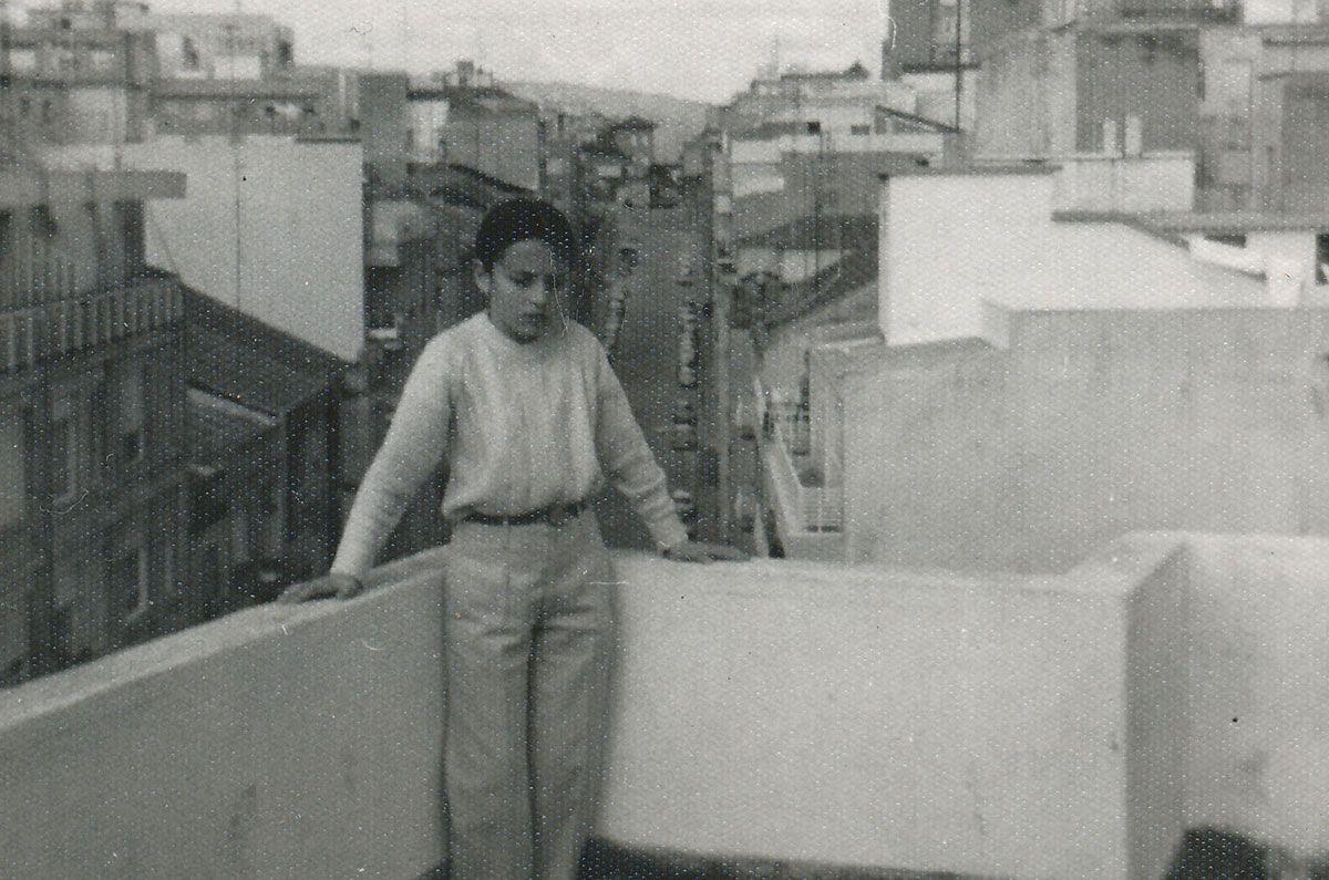 Na casa da rúa Zamora en Vigo (Álbum familiar)