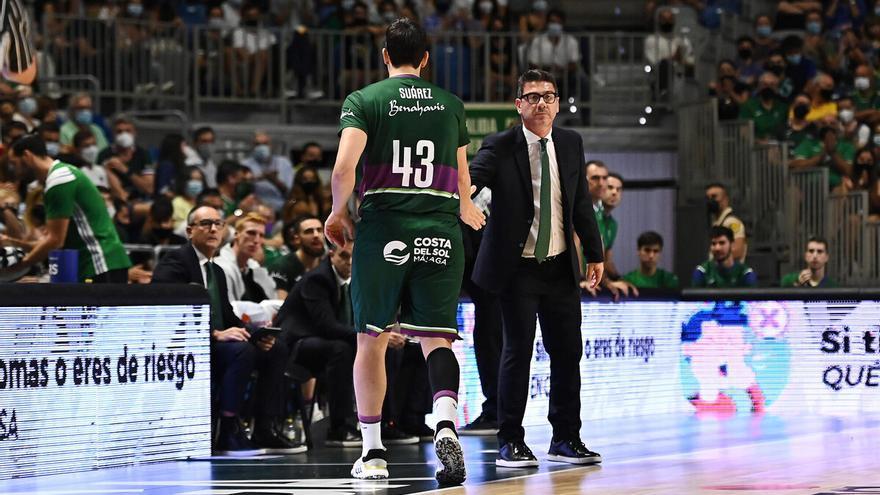 Carlos Suárez volvió a jugar en el Carpena 252 días después