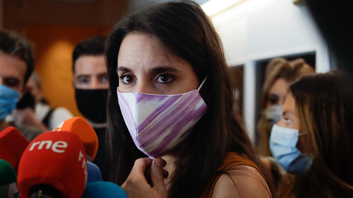 Irene Montero en una imagen de archivo