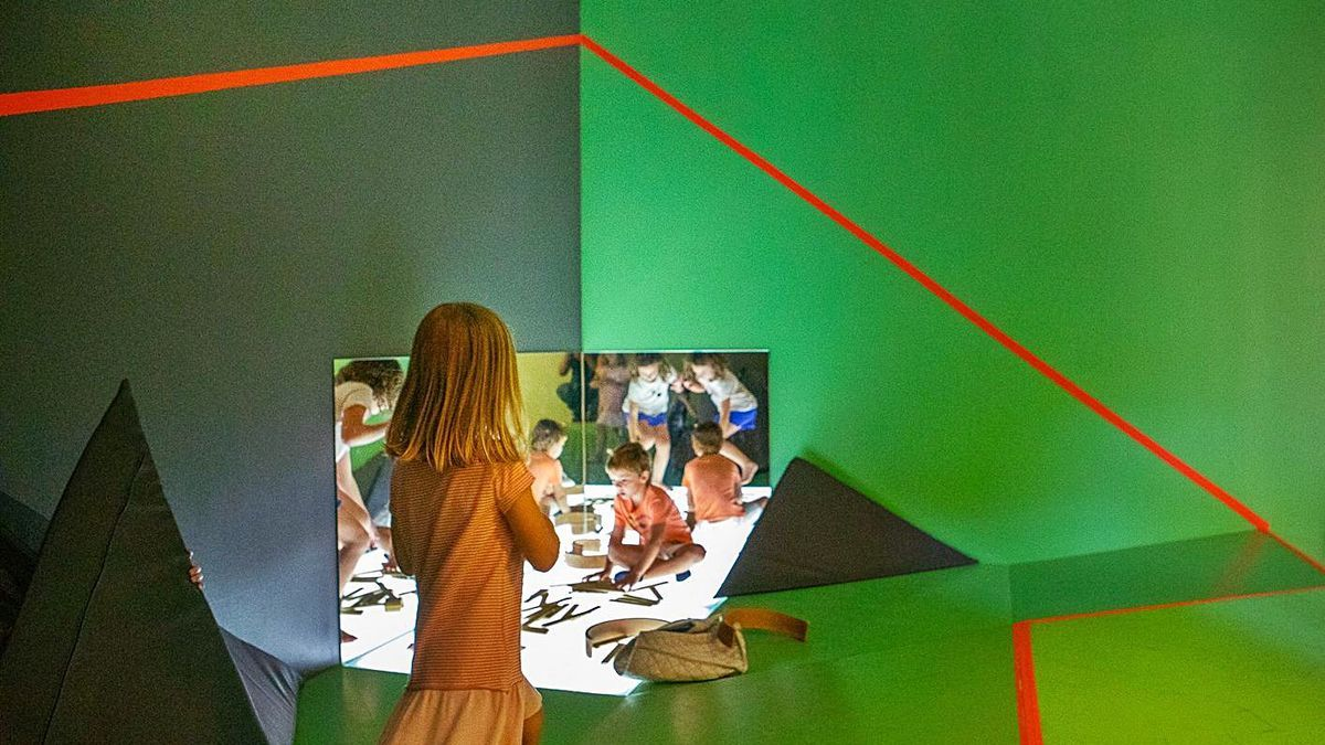 El espacio dedicado a los bebés en la sede del Consorci de Museus.   LEVANTE-EMV