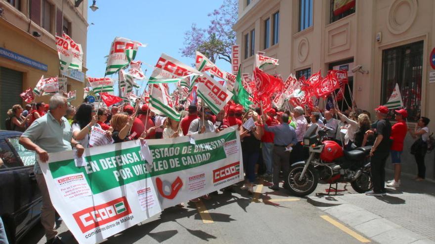 La marcha por la hostelería llega a Málaga capital