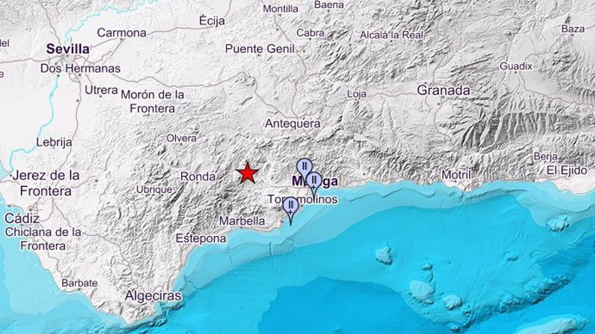 Dos temblores sacuden la provincia en la madrugada de este martes