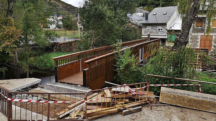 Rihonor de Castilla luce nueva pasarela de madera