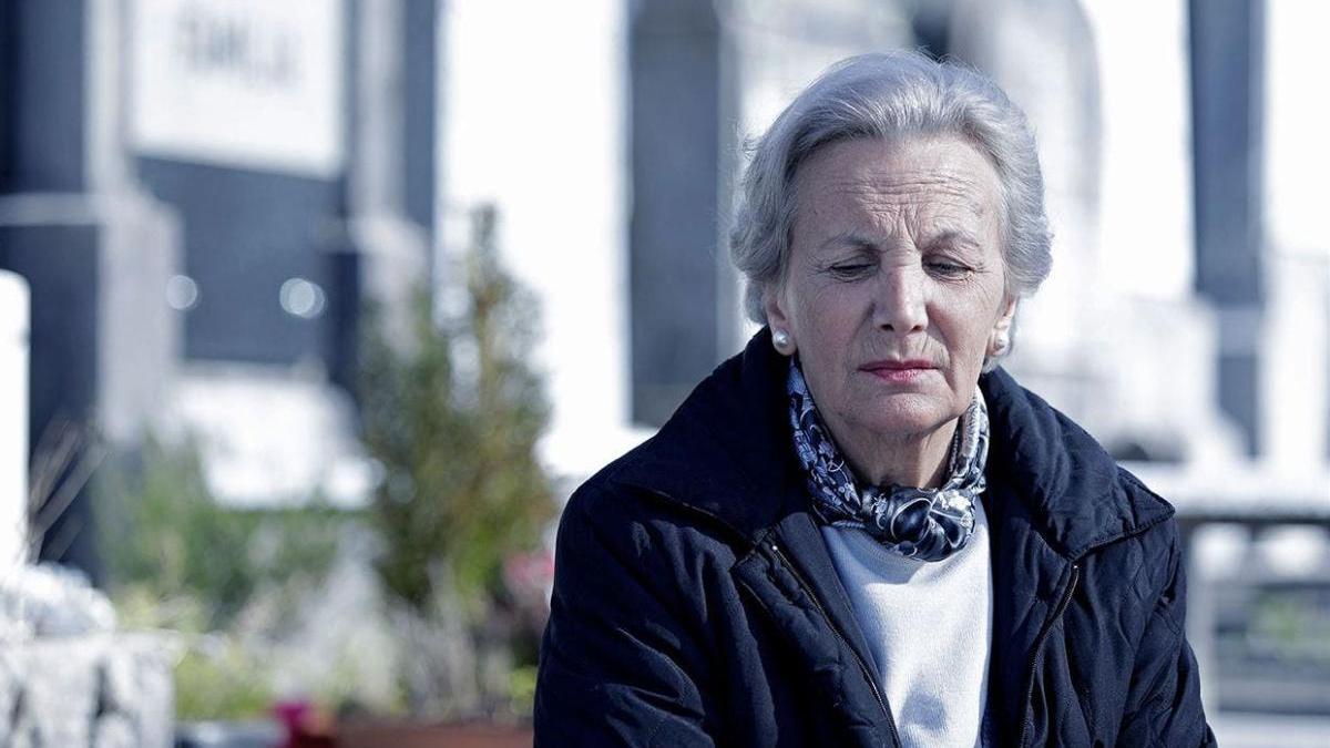 Elena Irureta es Bittori en 'Patria'.