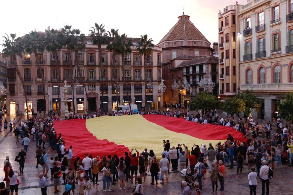 Acto del PP en la plaza de la Constitución