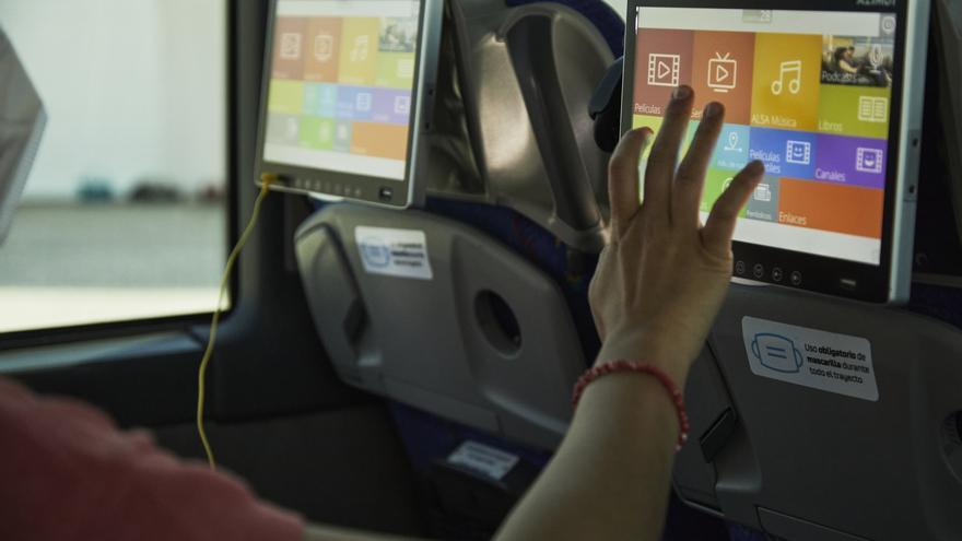 Alsa prueba el 5G de Vodafone en la estación de autobuses de Málaga para mejorar el ocio a bordo