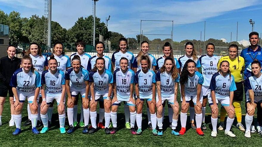 El fútbol femenino de la UMA logra el bronce en los campeonatos universitarios
