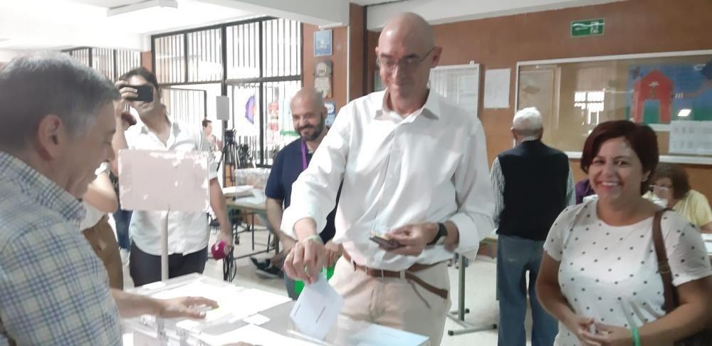 Votación de Eduardo Zorrilla (Adelante Málaga)