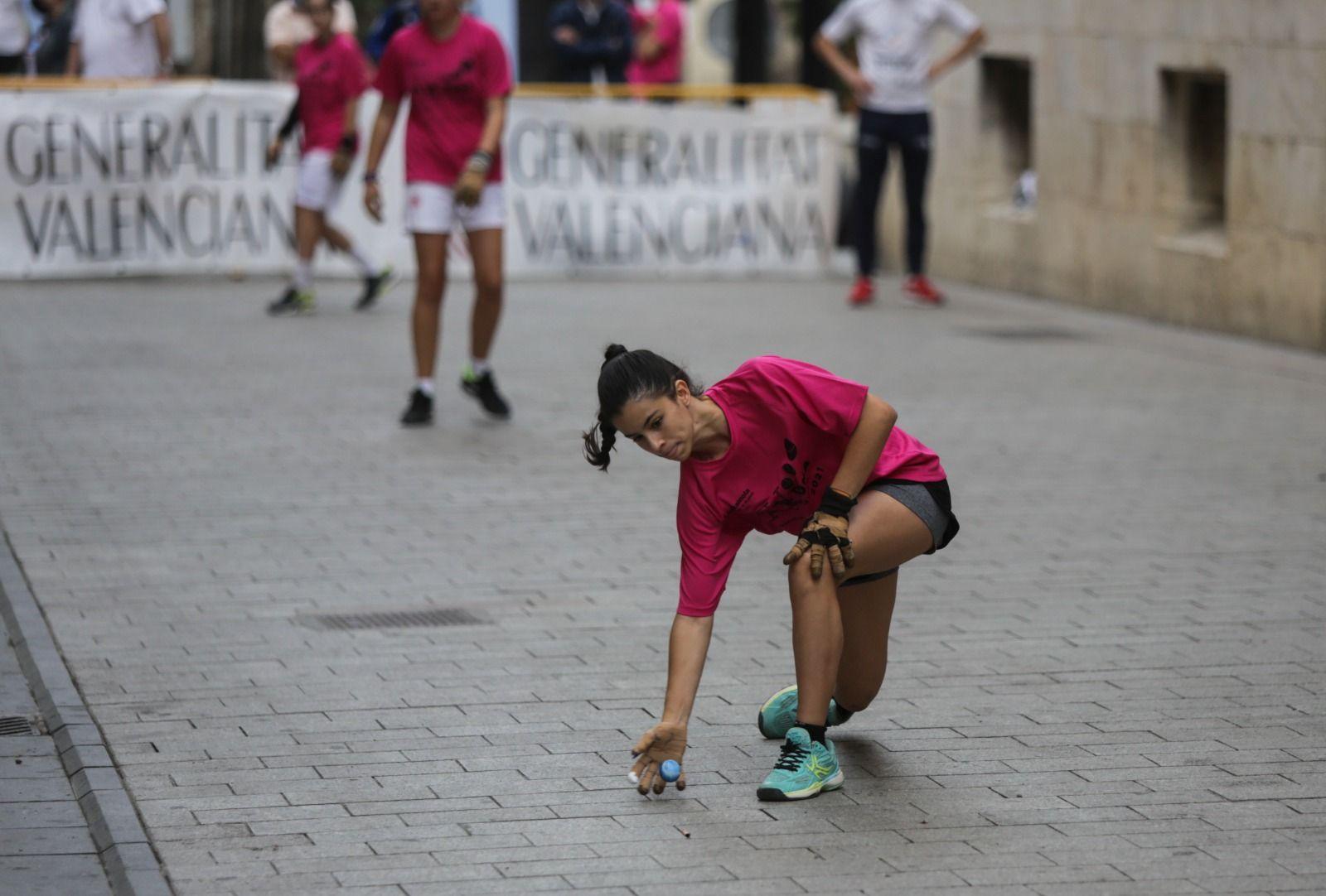 Así ha sido Va de Dona, el IV día de la dona en la pilota valenciana