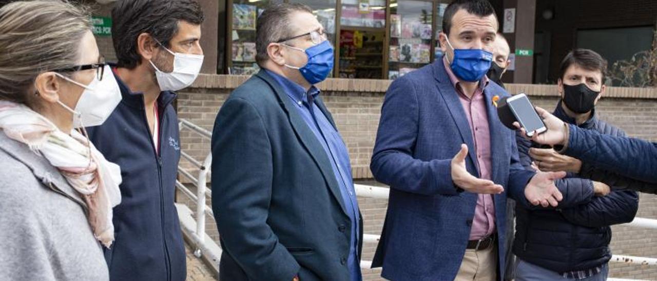 Críticas El PP reclama el servicio de radioterapia   PERALES IBORRA