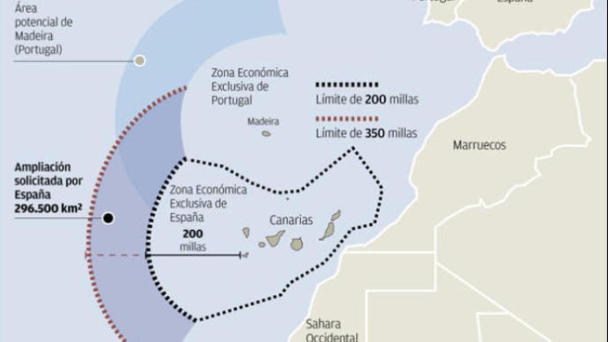 Marruecos pugna con Canarias por un tesoro submarino aún inalcanzable