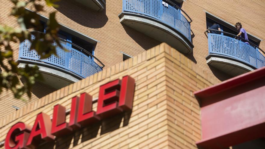 La Policia no estengué acta al col·legi major Galileo perquè els estudiants es dispersaren
