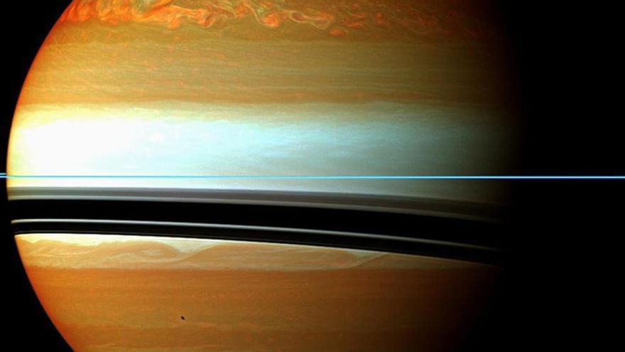La sonda Cassini desvela nuevos misterios de Saturno