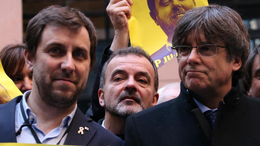 Comín: «El conflicte de Catalunya amb Espanya és entre una visió democràtica i una franquista»