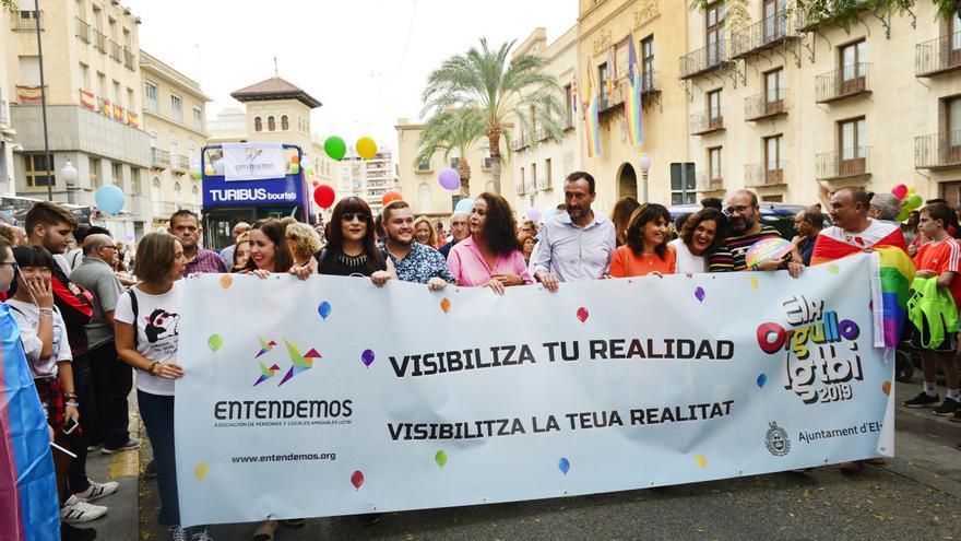 El Ayuntamiento de Elche conmemora el Día Internacional de la Visibilidad Bisexual