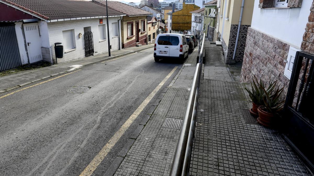Un tramo del camino Viejo a Pravia