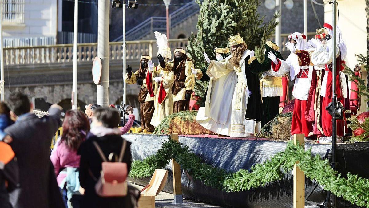 Los Reyes toman la Muralla en Cartagena