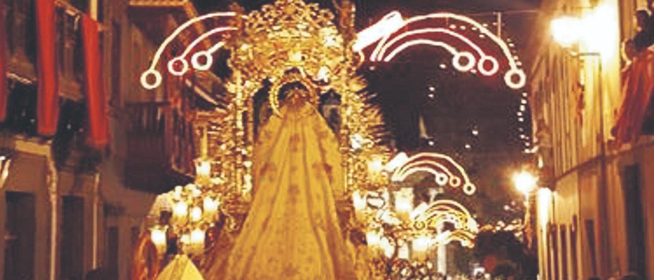 Imagen de archivo de la procesión del Día de Las Marías el 12 de septiembre de 2019. | | J. L. YÁNEZ