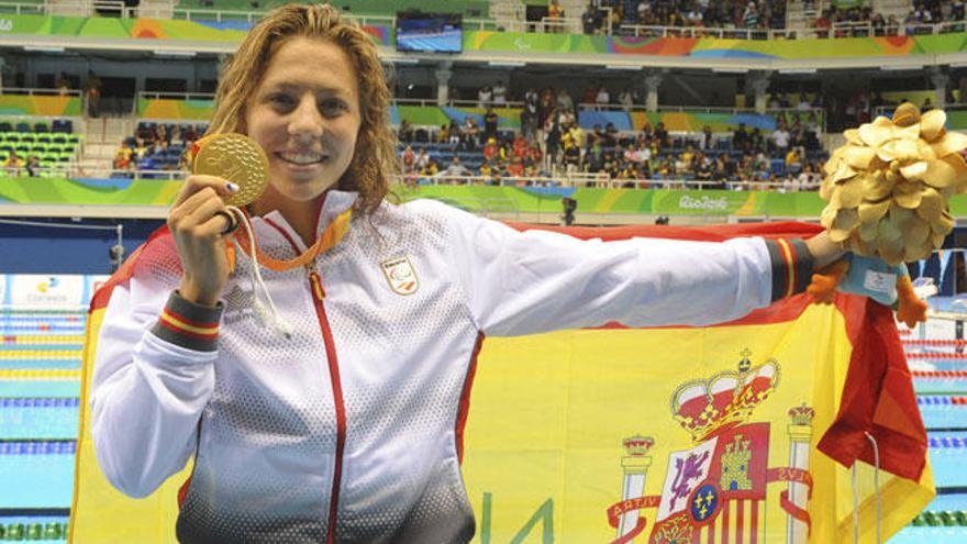 Nuria Marqués consigue la medalla de oro en los 400 metros libres