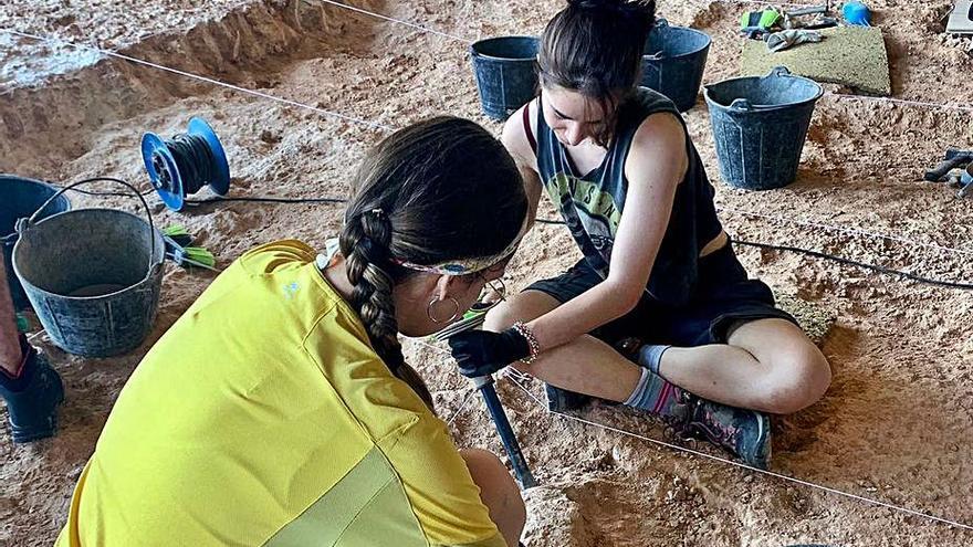 Tavernes de la Valldigna  El último hallazgo del Bolomor es un hueso quemado de 300.000 años