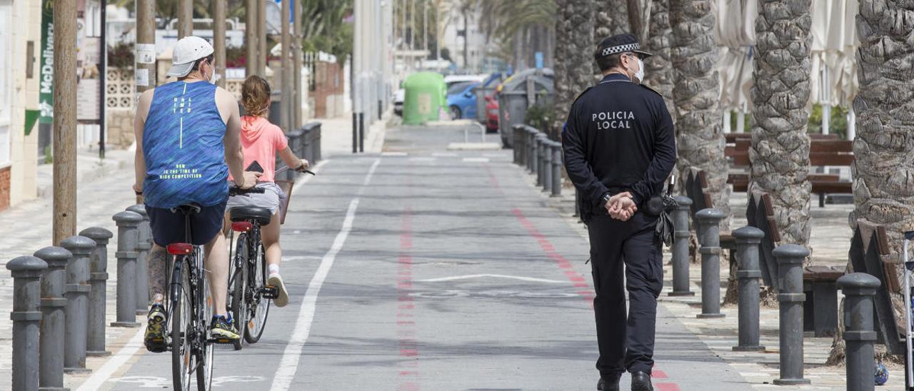 El calor llega en el peor momento por la previsible invasión de las calles