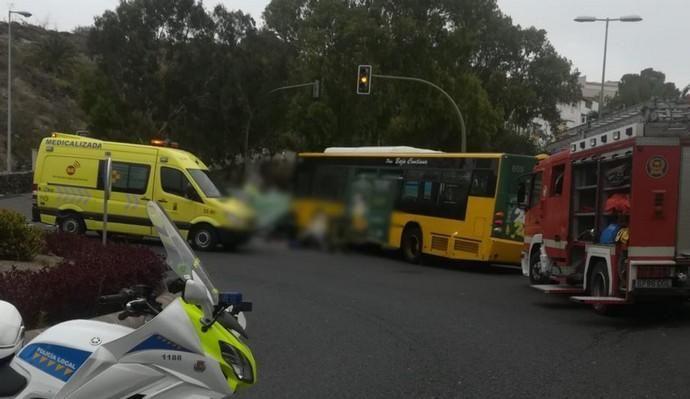 Muere una mujer atropellada por una guagua en Las Palmas de Gran Canaria