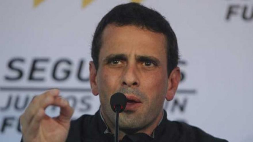 "Capriles: ""Basta ya de amenazas"""
