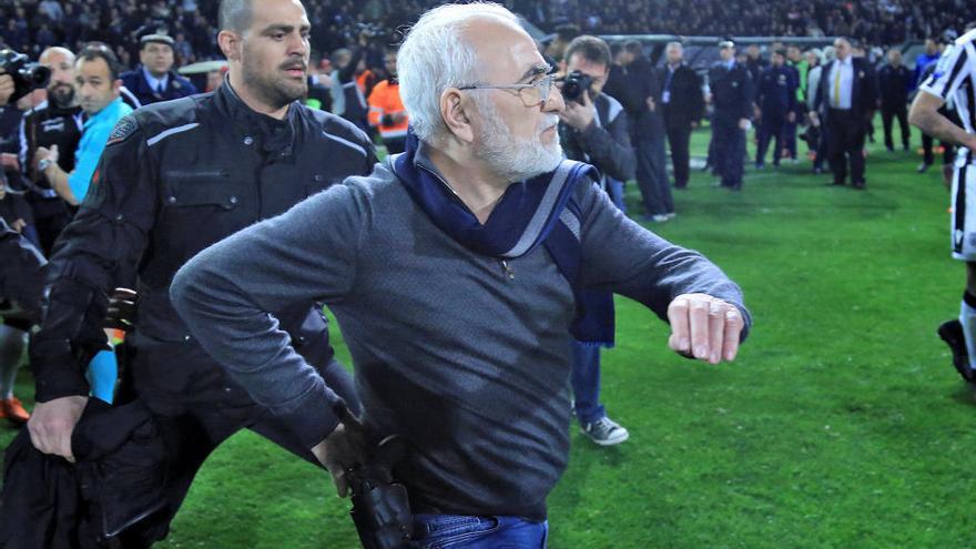 El Govern grec suspèn la lliga de futbol indefinidament per acabar amb la violència