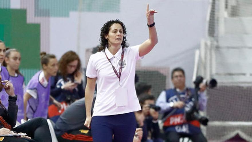 La baganesa Clàudia Pons porta la selecció estatal cap al seu primer Europeu