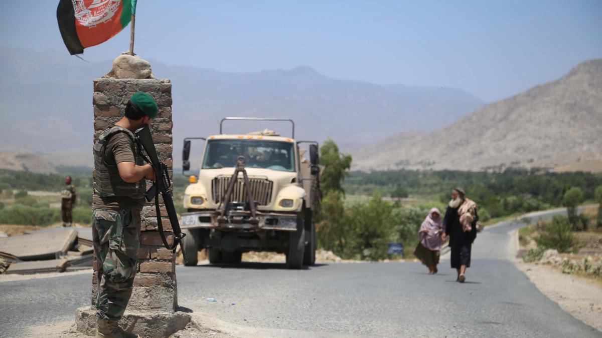 Ejército militar en Afganistán.