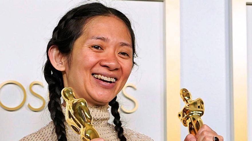 China ningunea el gran éxito de Chloé Zhao