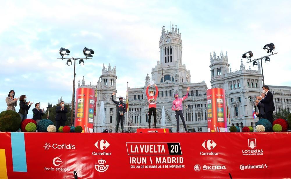 Las imágenes de la 18ª etapa de la Vuelta a España