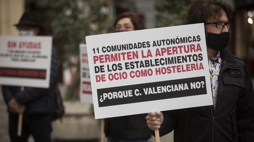 La Comunitat Valenciana baraja que el ocio nocturno reabra como hostelería durante el día