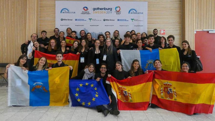 El Coro Juvenil Auditorio de Tenerife se hace con dos premios en Suecia