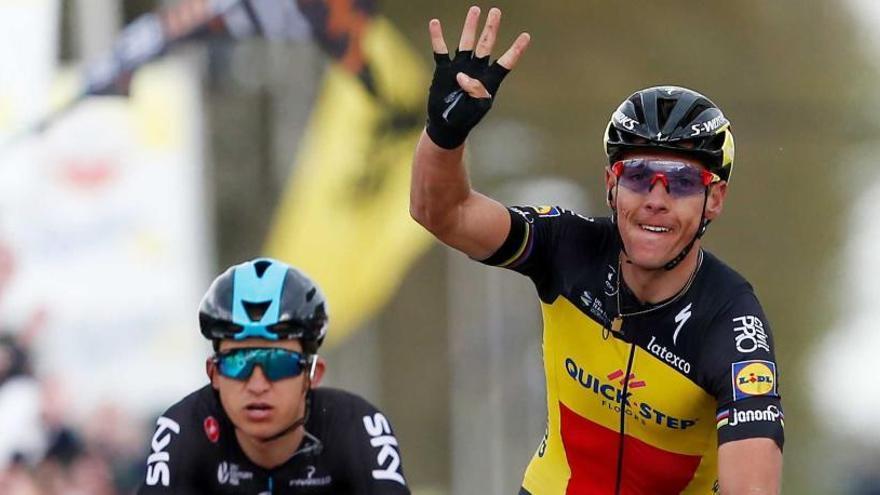 Gilbert gana su cuarta Amstel Gold Race en un duelo con Kwiatkowski