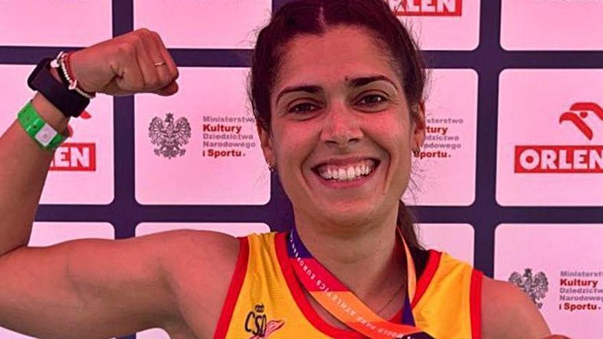 Miriam Martínez logra el segundo oro valenciano en Polonia