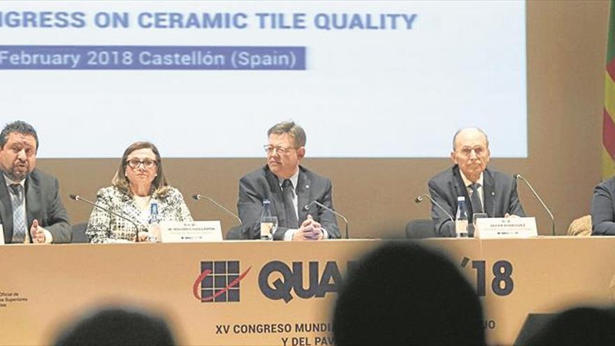 Puig reclama un pacto europeo en defensa de la industria cerámica
