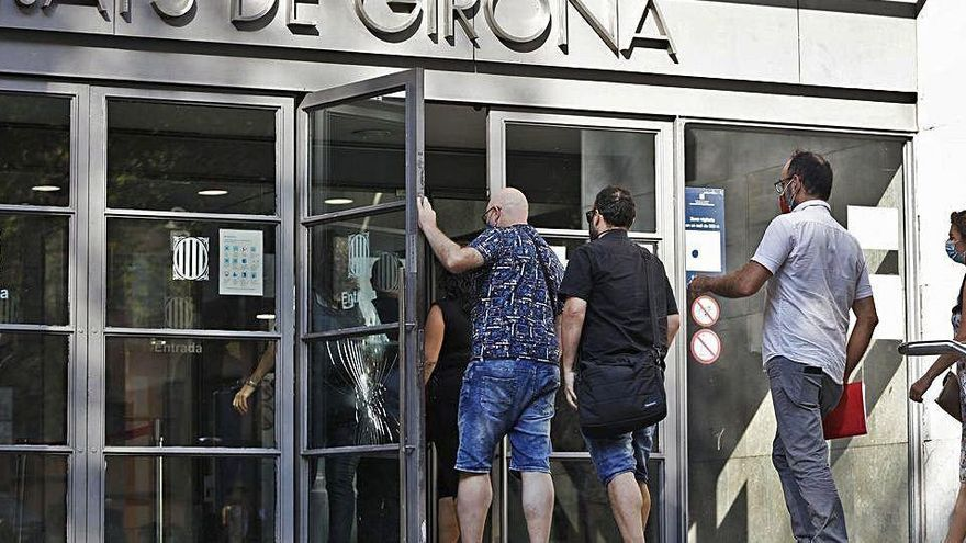 Els concursos de creditors de persones físiques a Girona superen els d'empresa