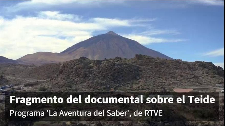 El Teide recorre el mundo en RTVE