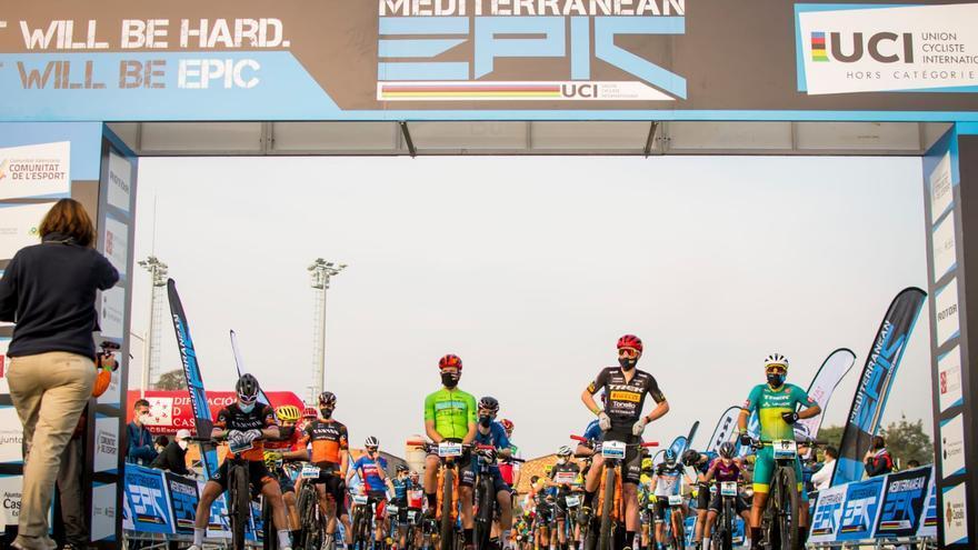 Segunda etapa de la Mediterranean Epic 2021.