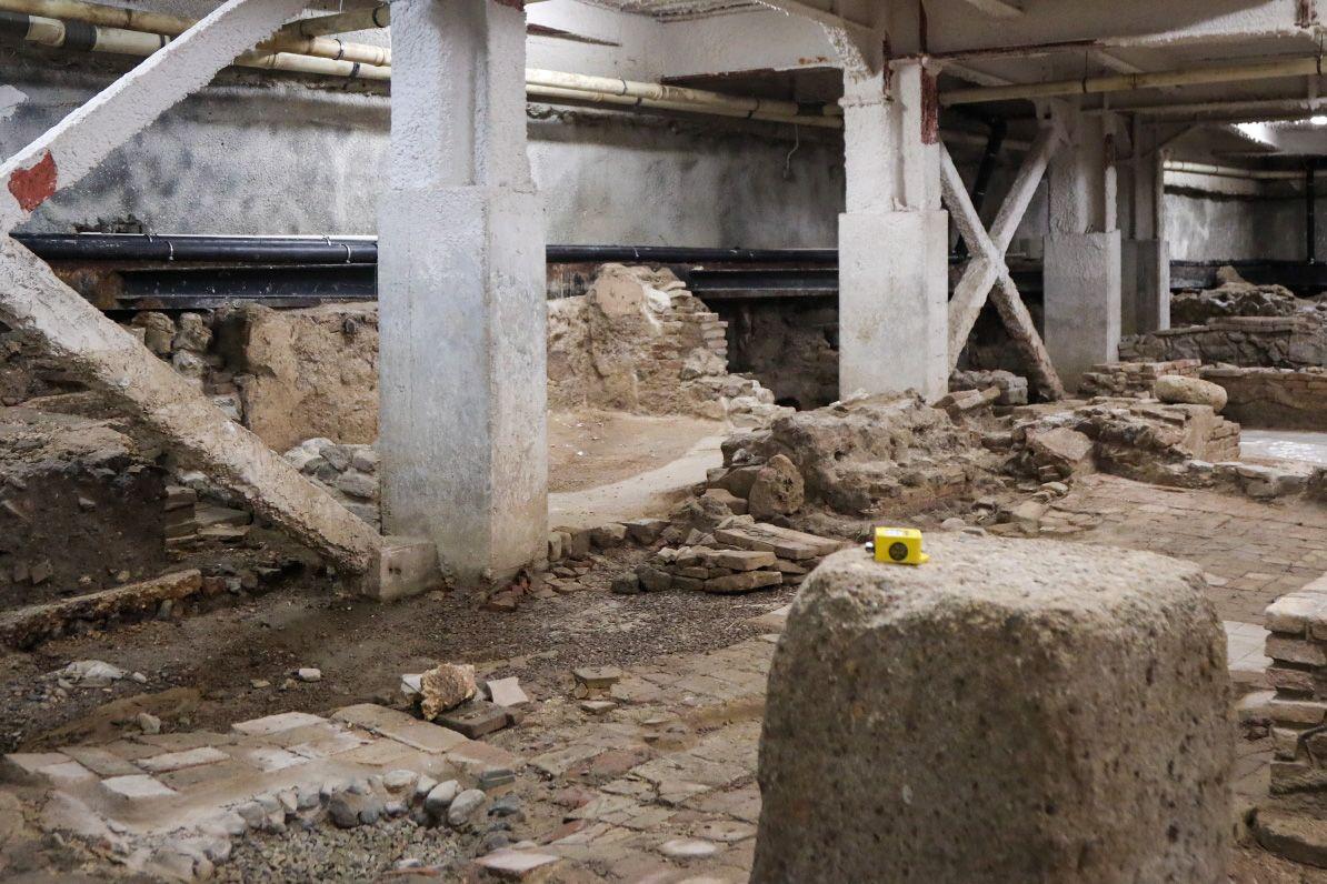 Intervención de corrección hidrológica del sótano arqueológico del museo Thyssen de Málaga