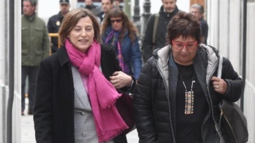 La Fiscalía pide al Supremo que suspenda la semilibertad de Bassa y Forcadell