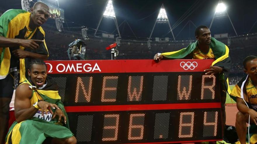 Usain Bolt perd un or de Pequín 2008