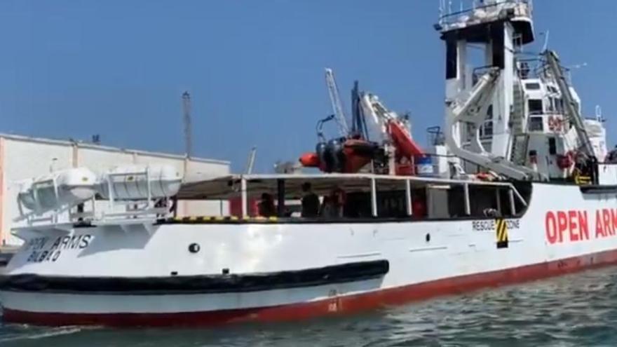 El Open Arms desembarca en Sicilia a los 146 migrantes