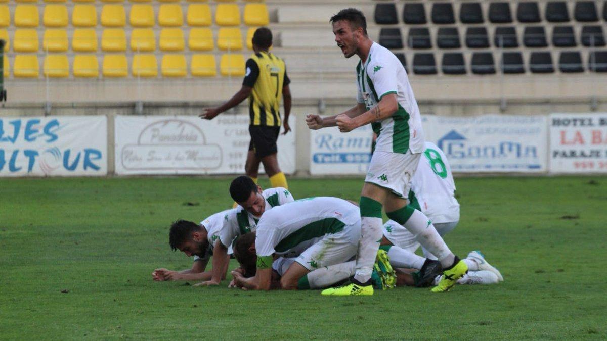 El Córdoba B asalta el liderato con trabajo (0-1)