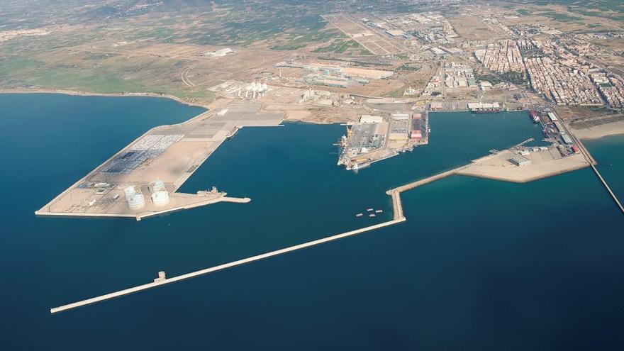 El tráfico del puerto de Sagunt crece un 24,09% respecto al año pasado en el período de enero a julio