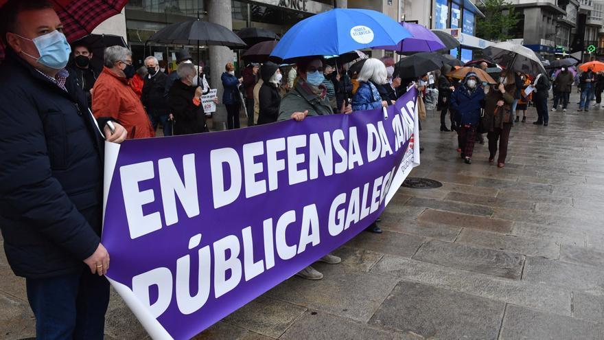 Convocada una protesta hoy en A Coruña para exigir mejoras en el sistema sanitario