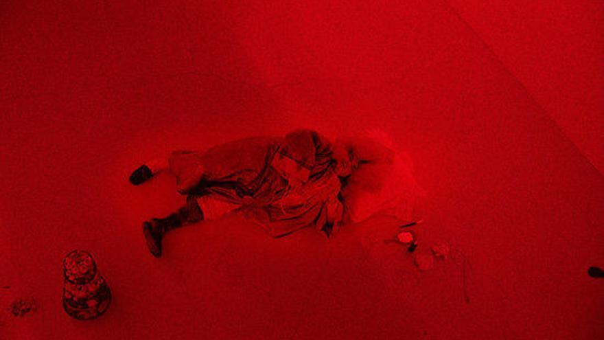 El director de cinema Albert Serra estrena la vídeo-instal·lació 'Roi Soleil' a la Galeria Cadaqués
